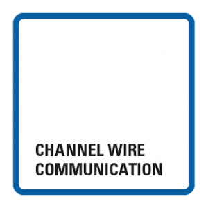 Channel wire communication