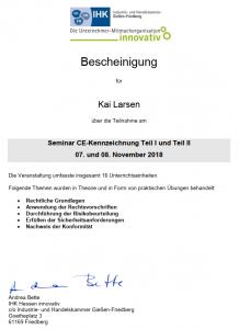 IHK CE-Zertifikat